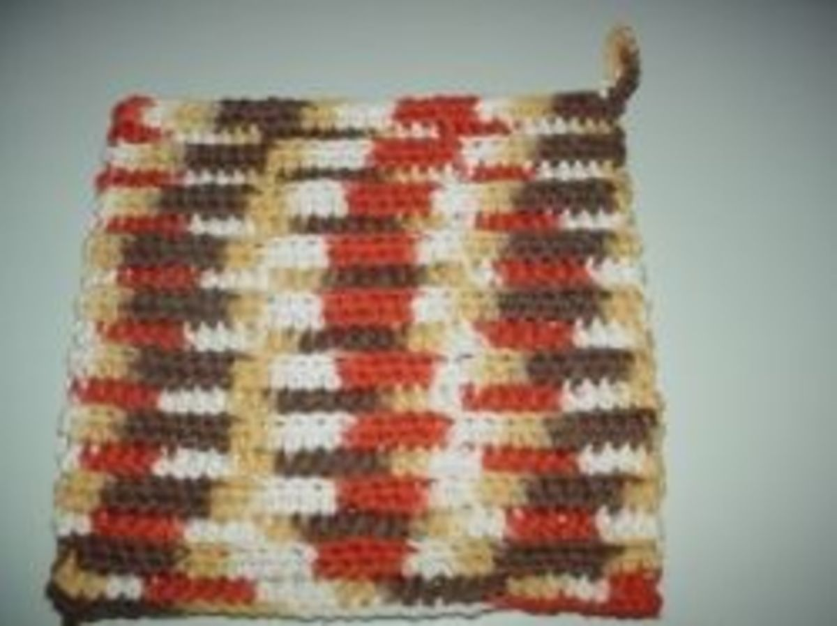 Crochet a Potholder for Beginners