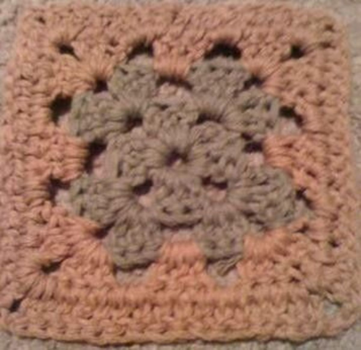 Granny square. Easier for beginners than you think.