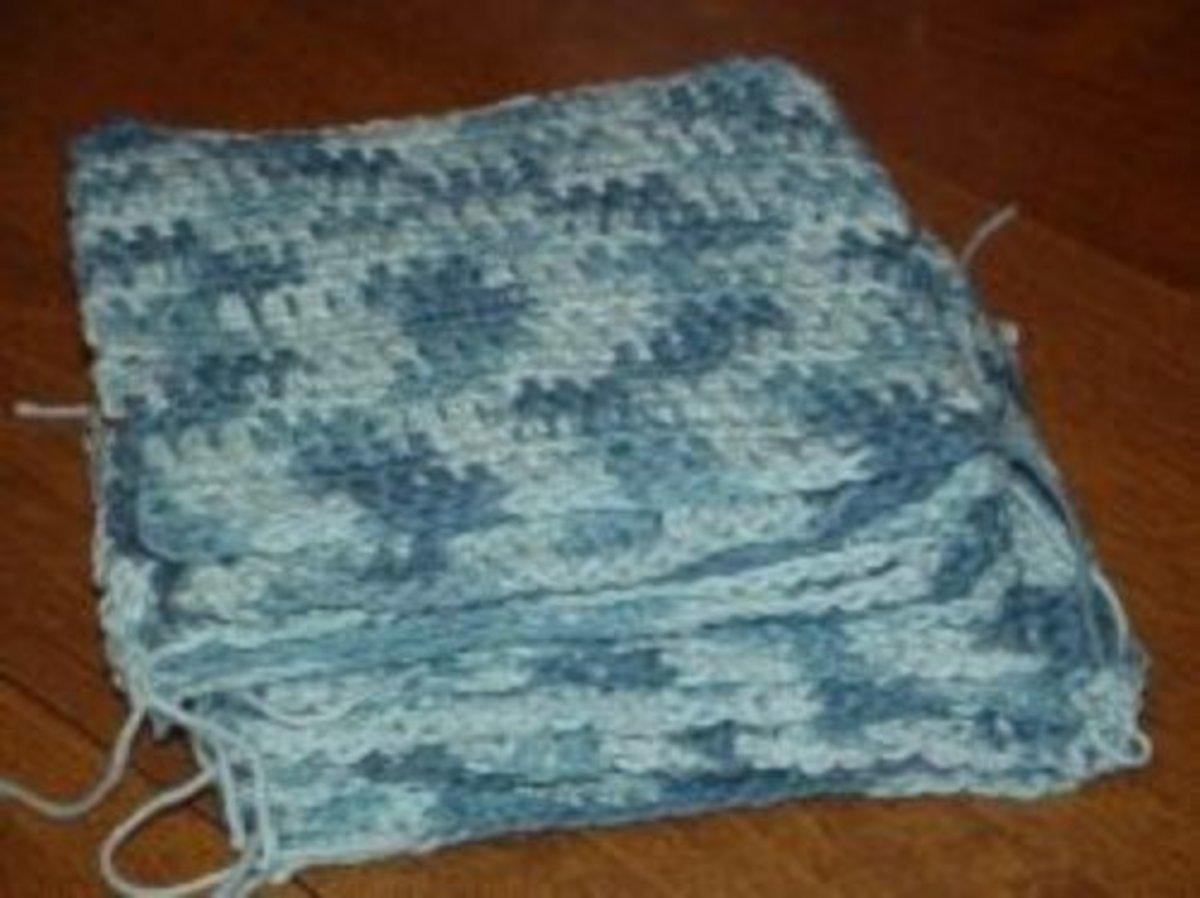 Crochet squares for beginners