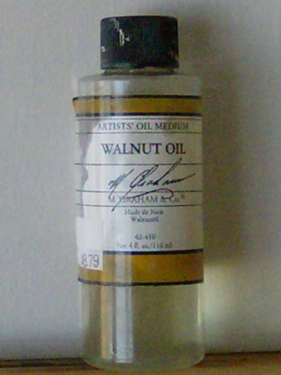 Walnut Alkyd Oil