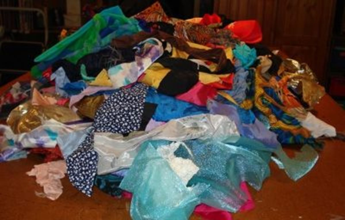 Pile of wonderful crazy bits