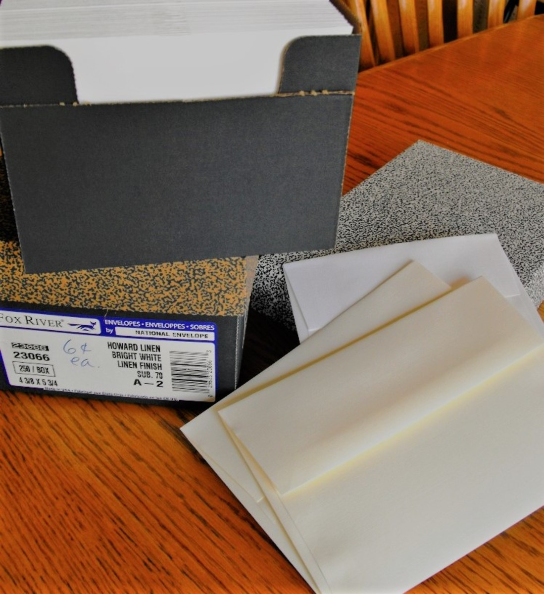 Envelopes by the box for card making
