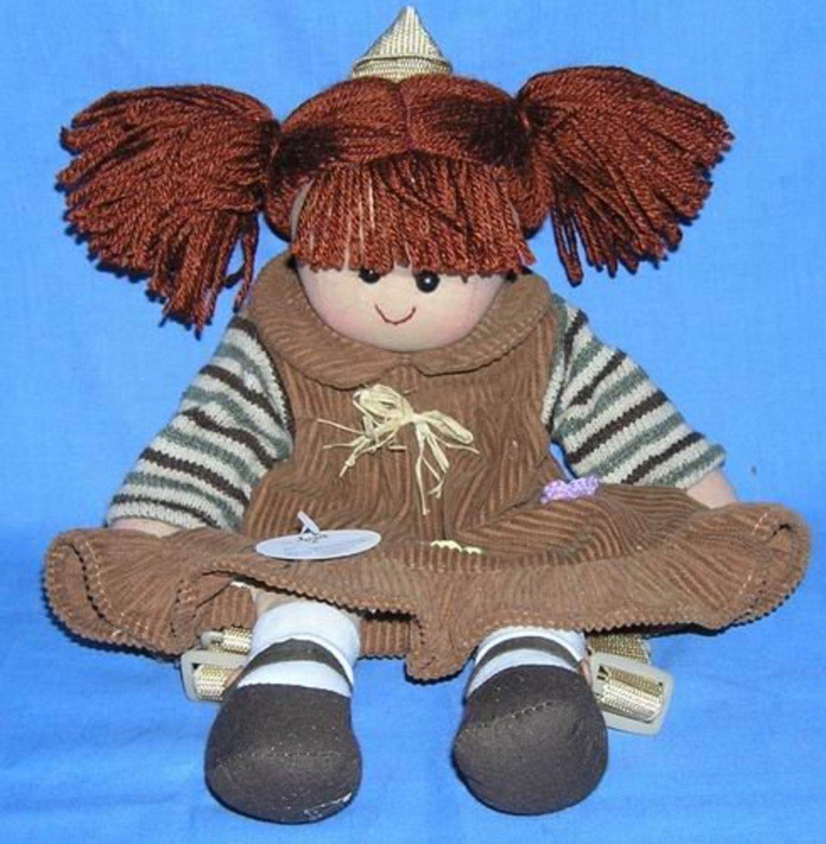 Rag dolls hair