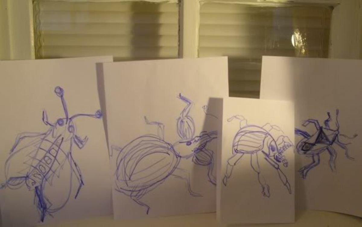 Bonus Material - Paper Mache Bugs