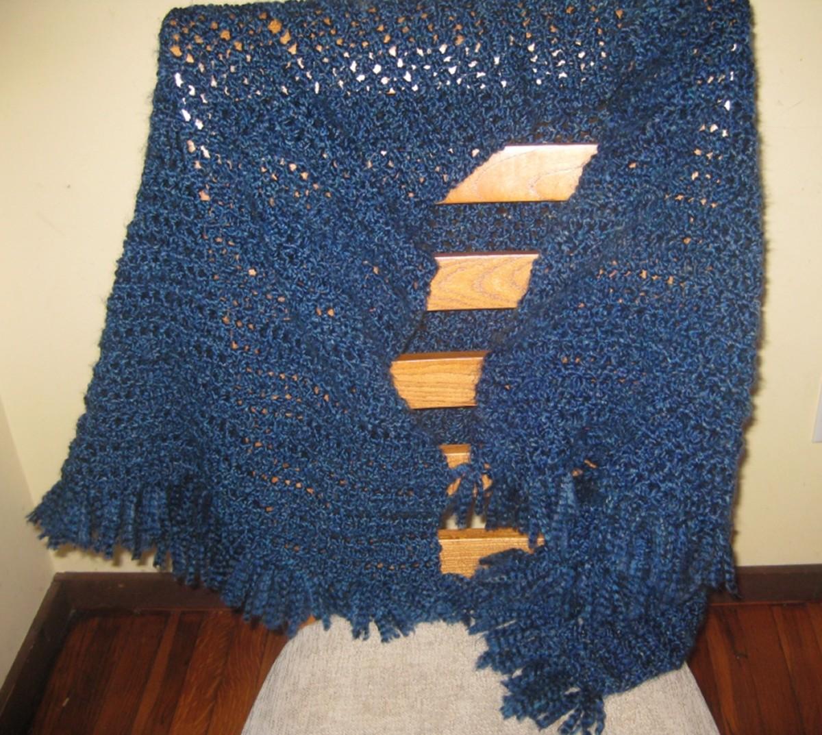 How To Crochet A Prayer Shawl Feltmagnet