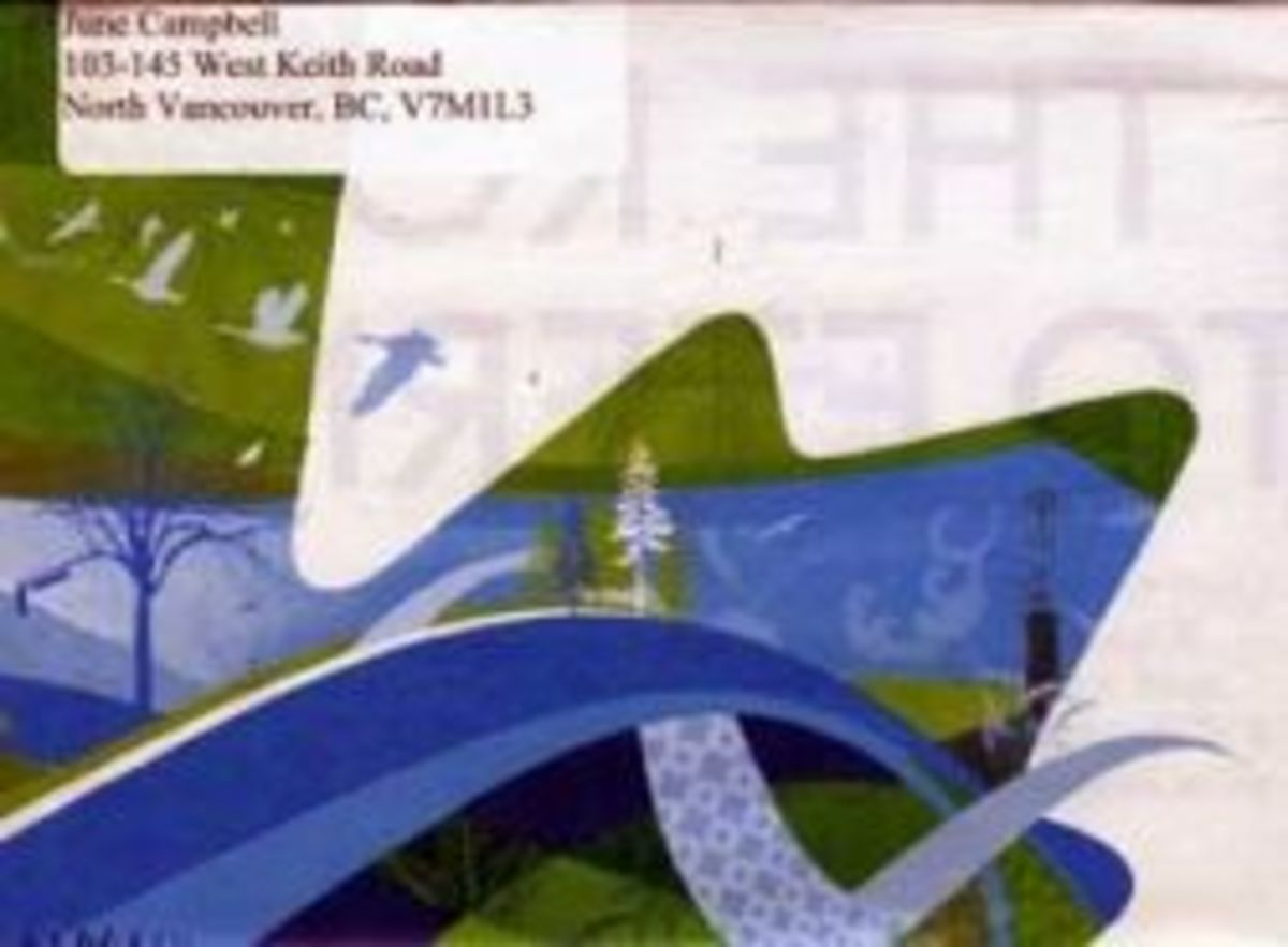 Envelope Made from Glossy Brochure