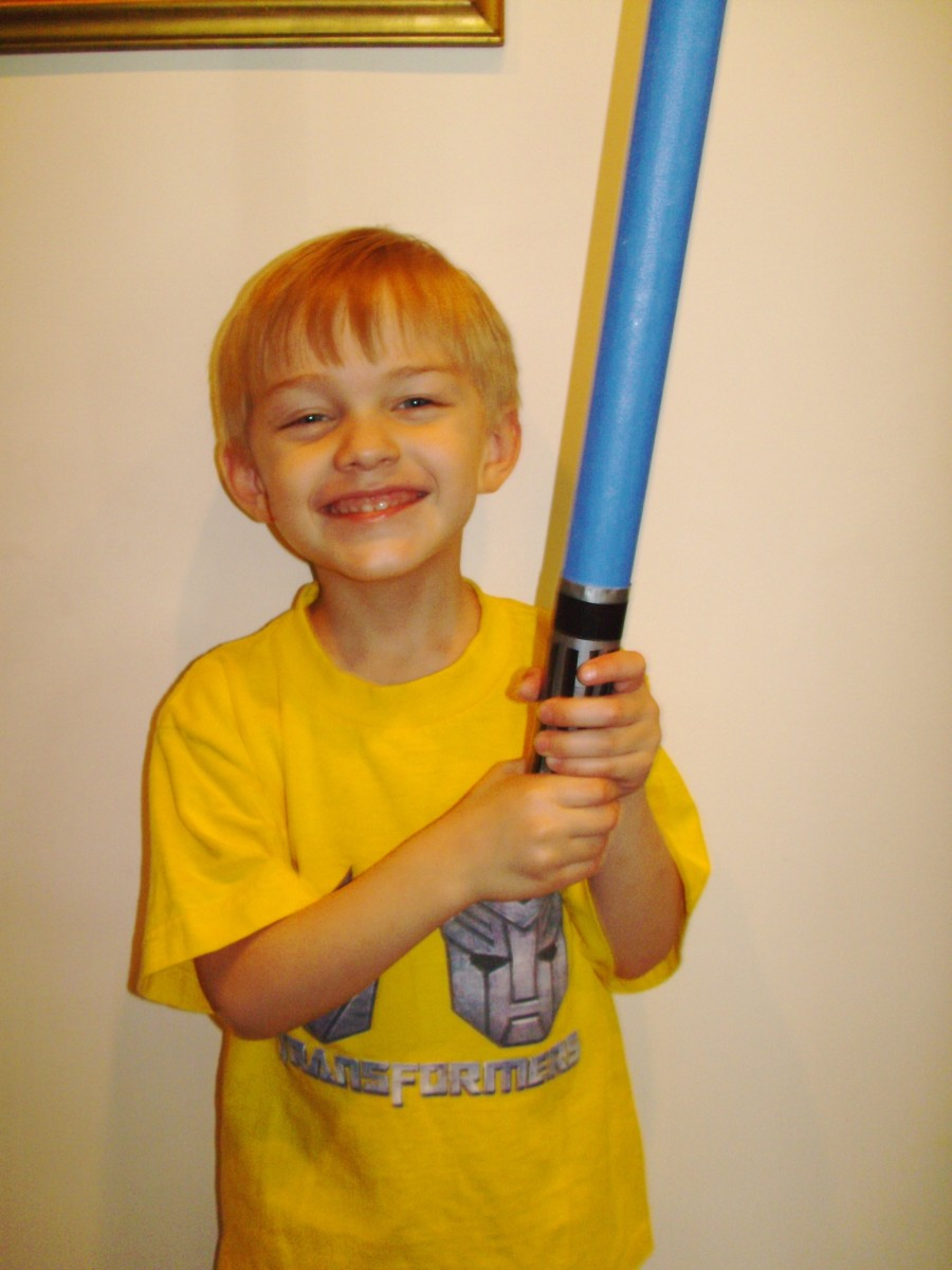 ...and a joyful padawan learner.