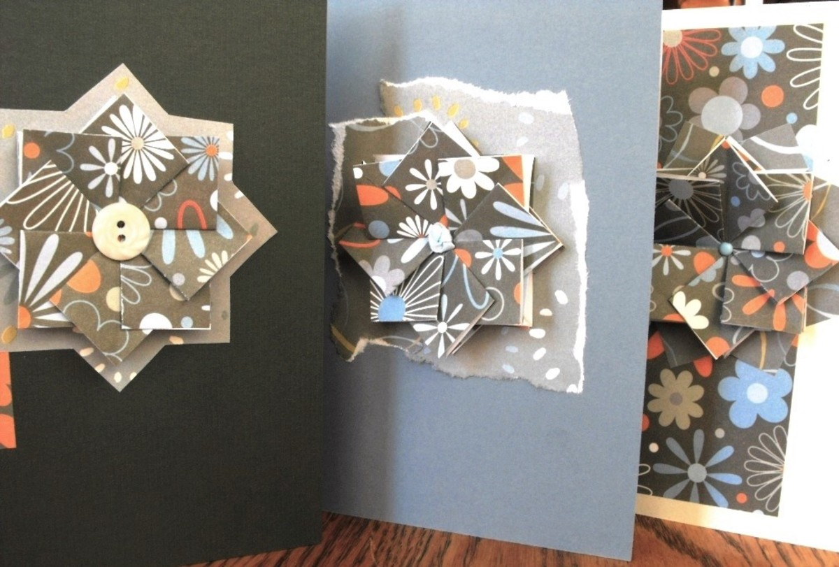Finished Greeting Cards.