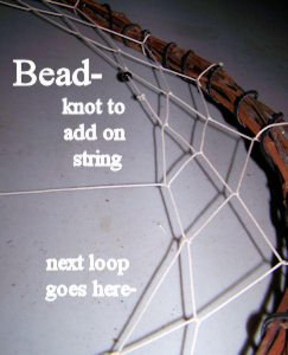Add beads