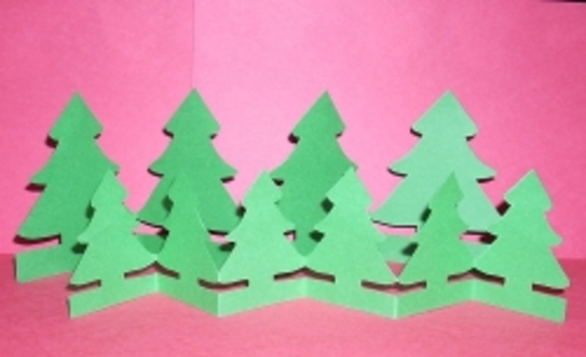 Christmas Paper Chain Doll Craft