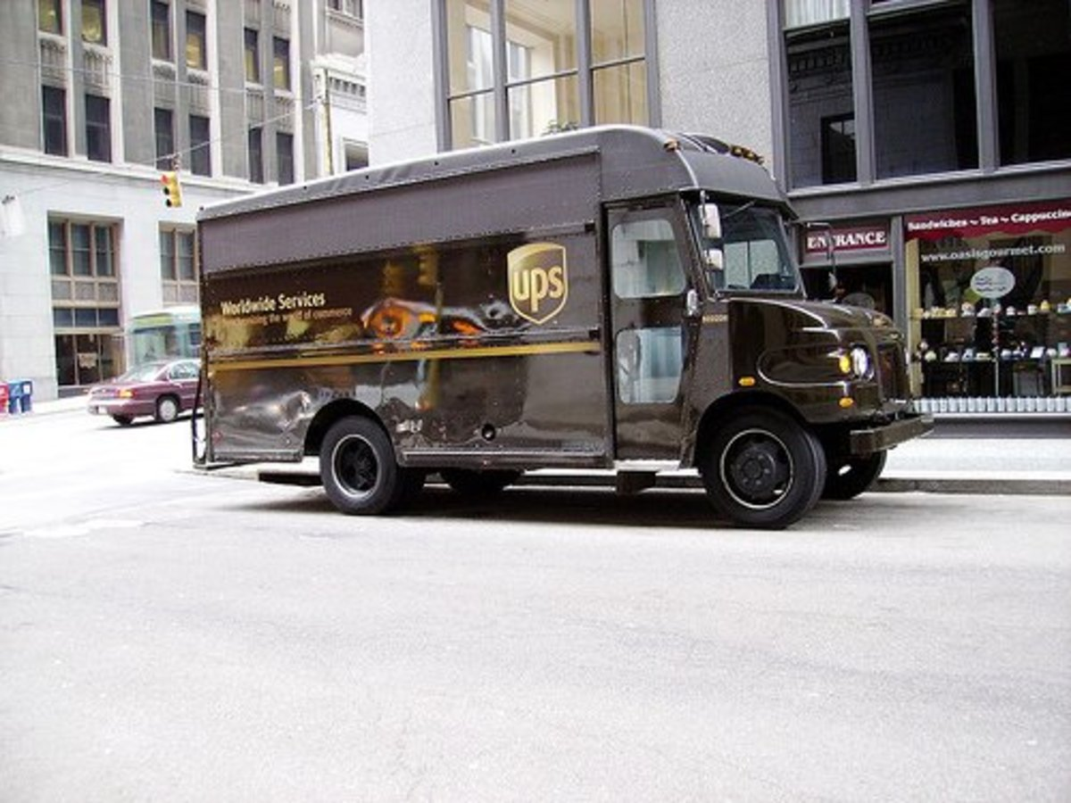 UPS is just one option for shipping your precious artwork