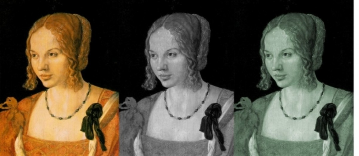 "Albrecht Drer's ""Portrait of a Young Venetian Woman"""