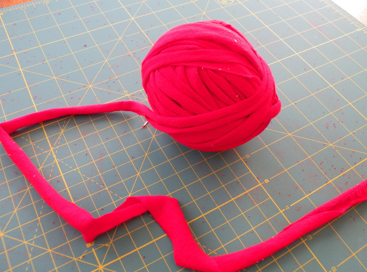 Wind strips into a ball to keep from tangling.
