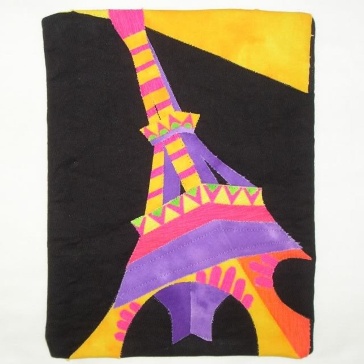 Tour Eiffel inspired by DeLaunay