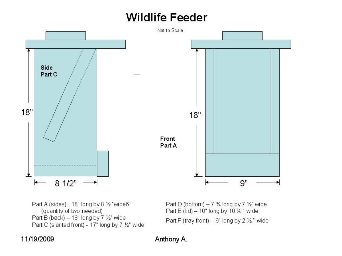 Deer Feeder Box Plans