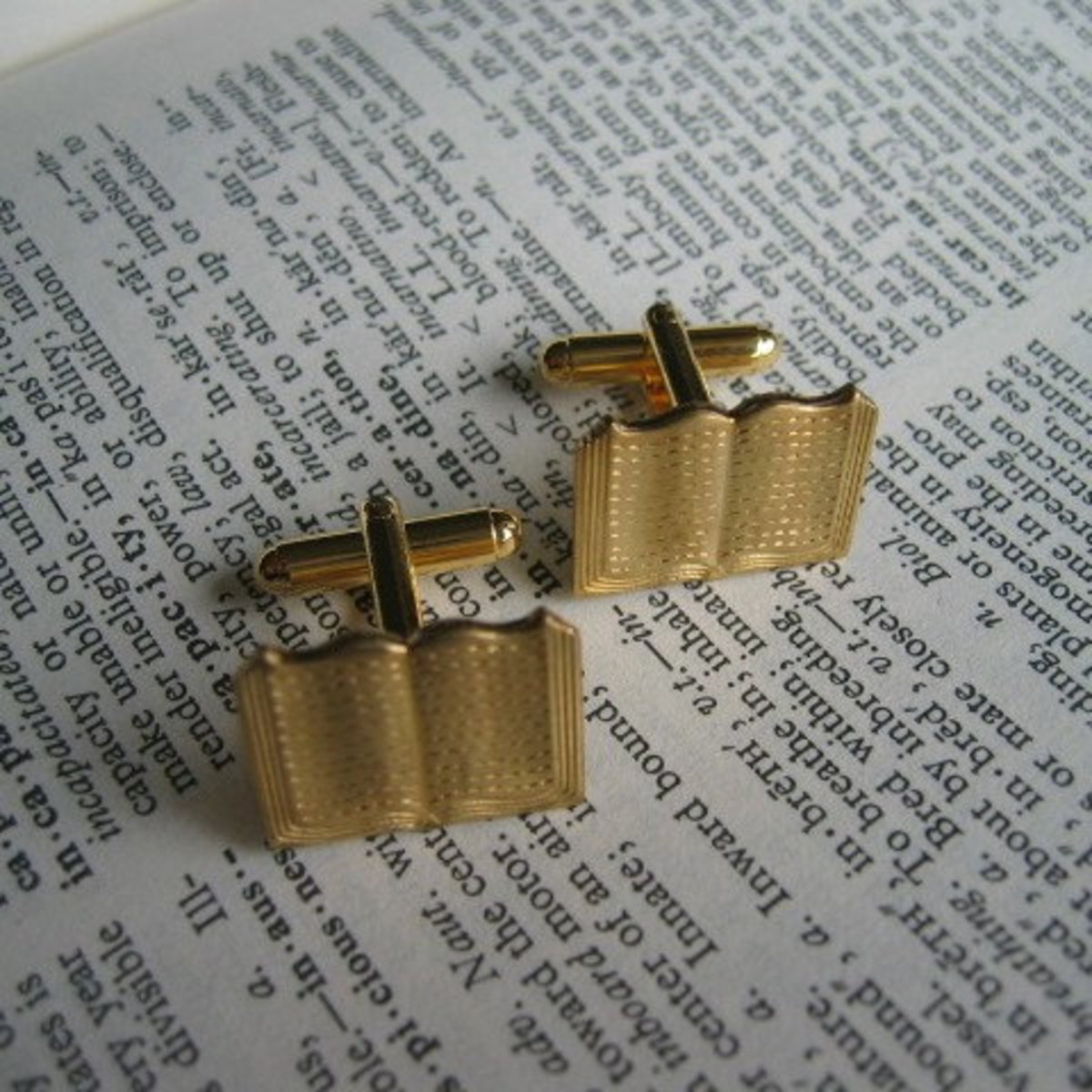 Life is like an OPEN BOOK Cufflinks