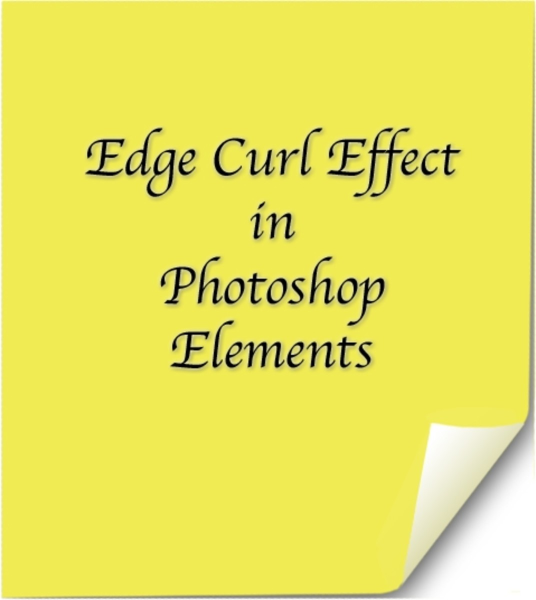 Give your sticky notes a 3d effect with a page curl, or edge curl effect.