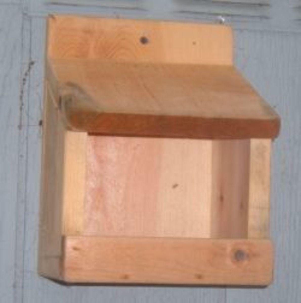 Robin Nesting Shelf