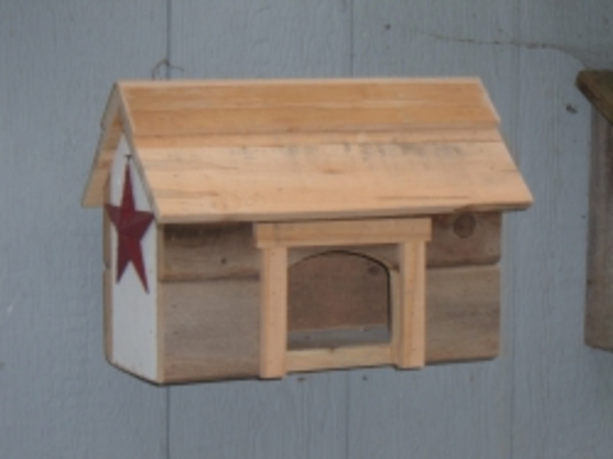 Rustic Nest Box