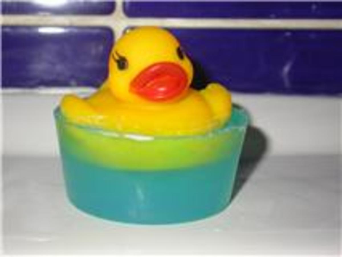 All kids big and small will love this floating soap.