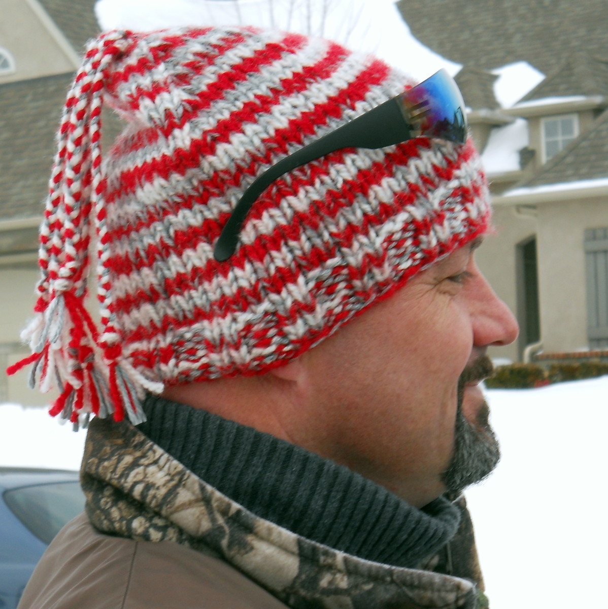 How To Knit An Easy Beanie Hat With Straight Needles Feltmagnet