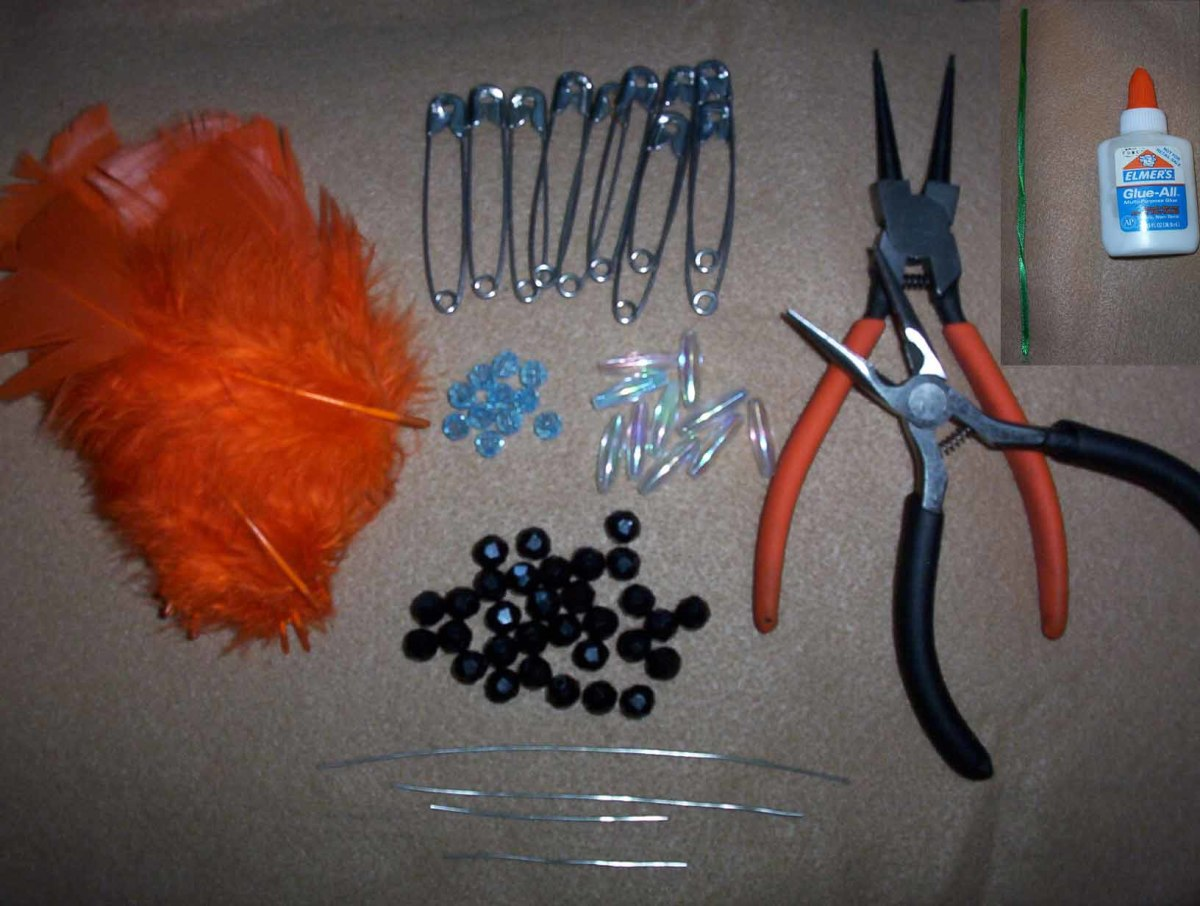 How To Make A Native American Beaded Headdress With Safety