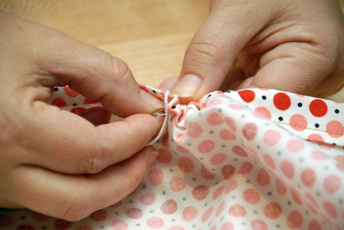 how to put elastic in sheets