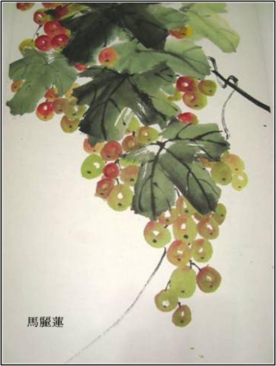 """""""The Grapevine,"""" by artist Marilyn Alexander"""