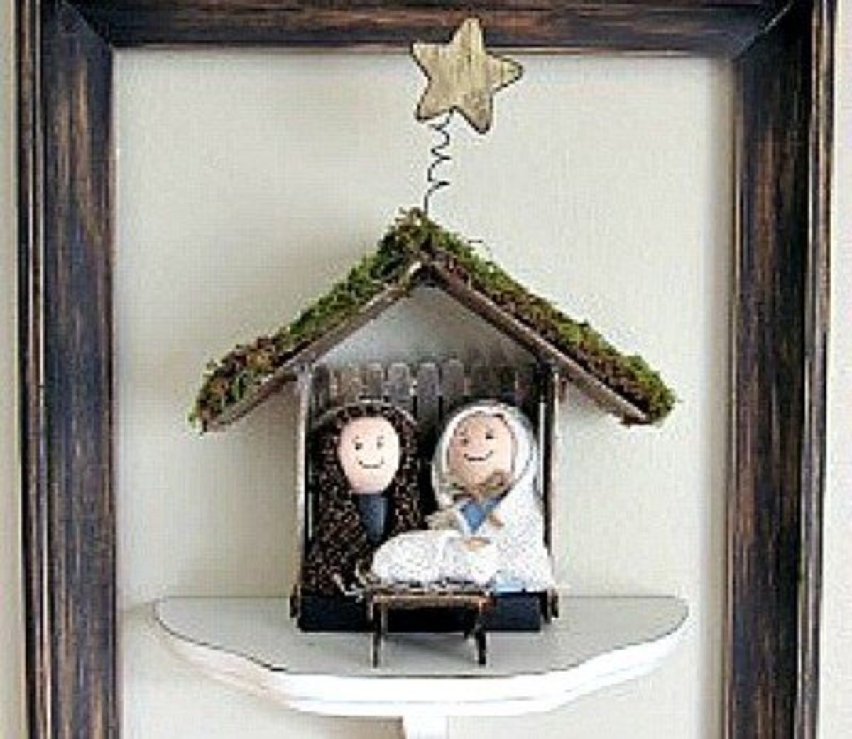1ff9579e342d7 40 Beautiful Nativity Craft Ideas