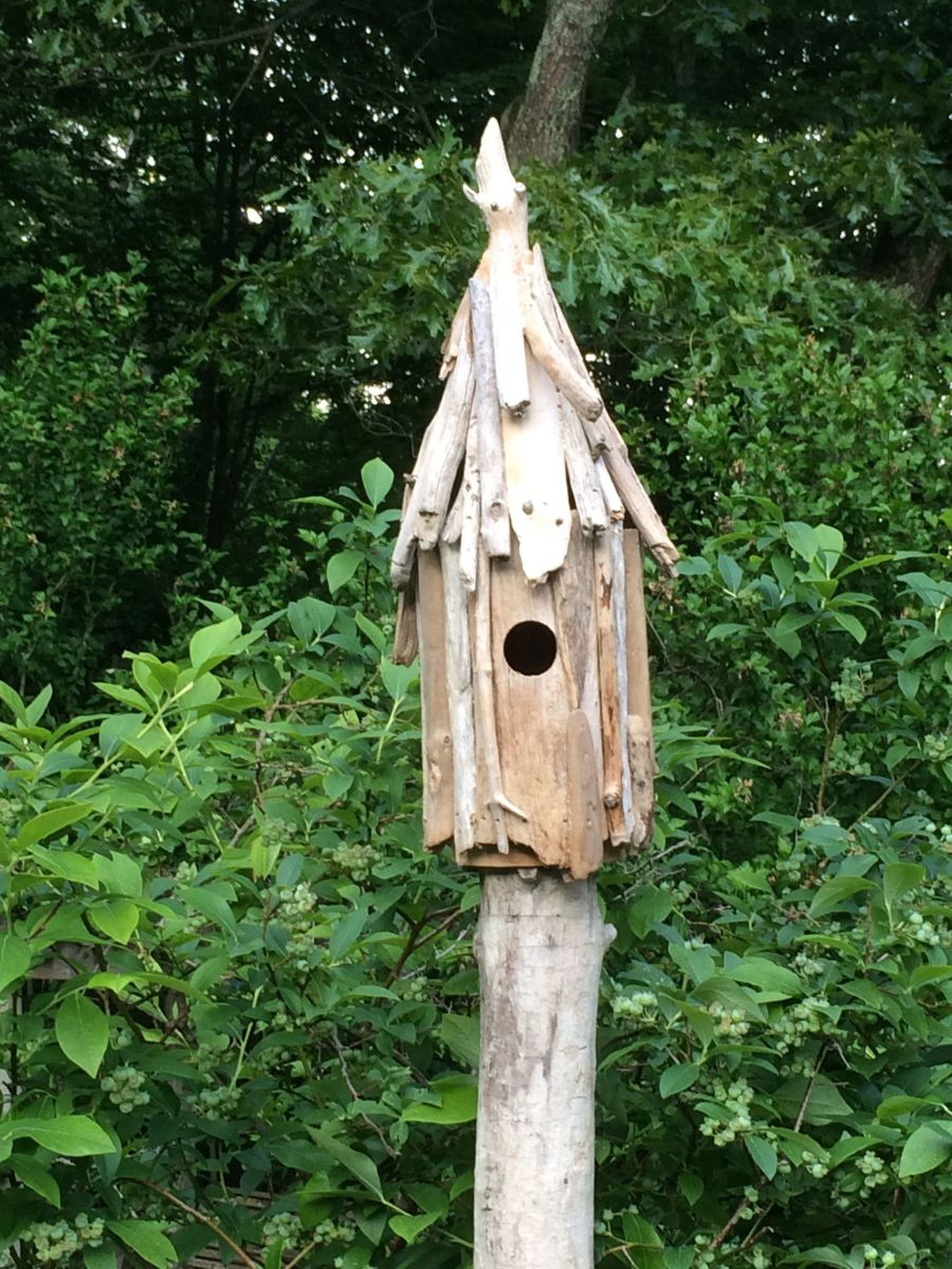 Driftwood Birdhouse Plans