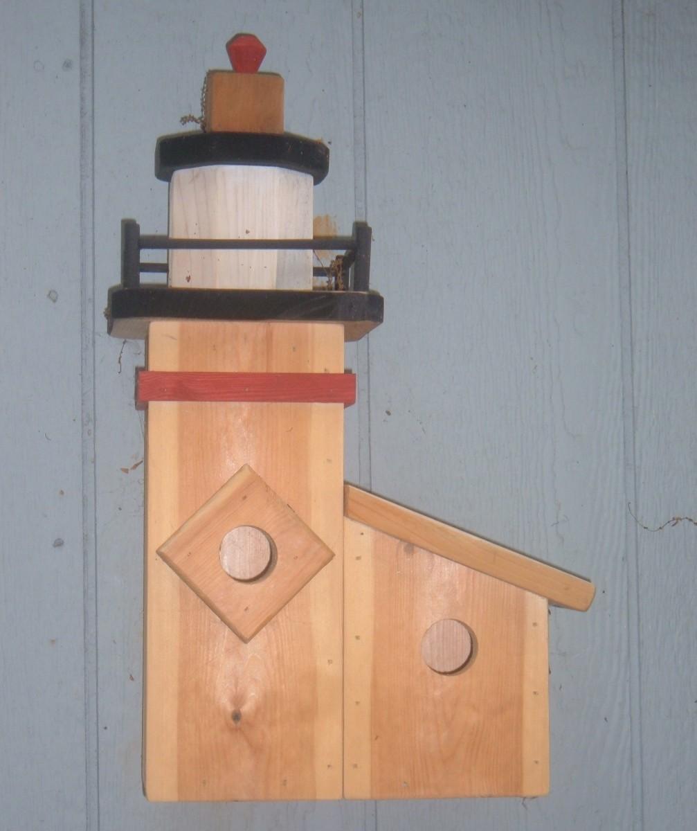 Lighthouse Birdhouse Plans