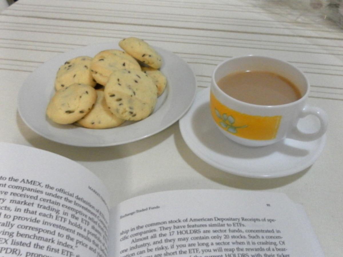 Lavender Cookies and Lavender Tea.