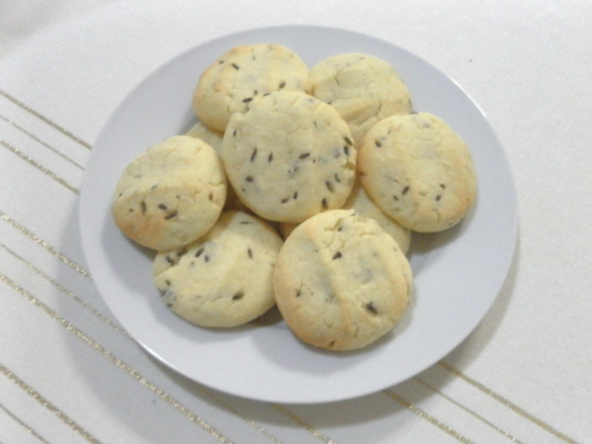 Irresistible lavender cookies - they smell so good!