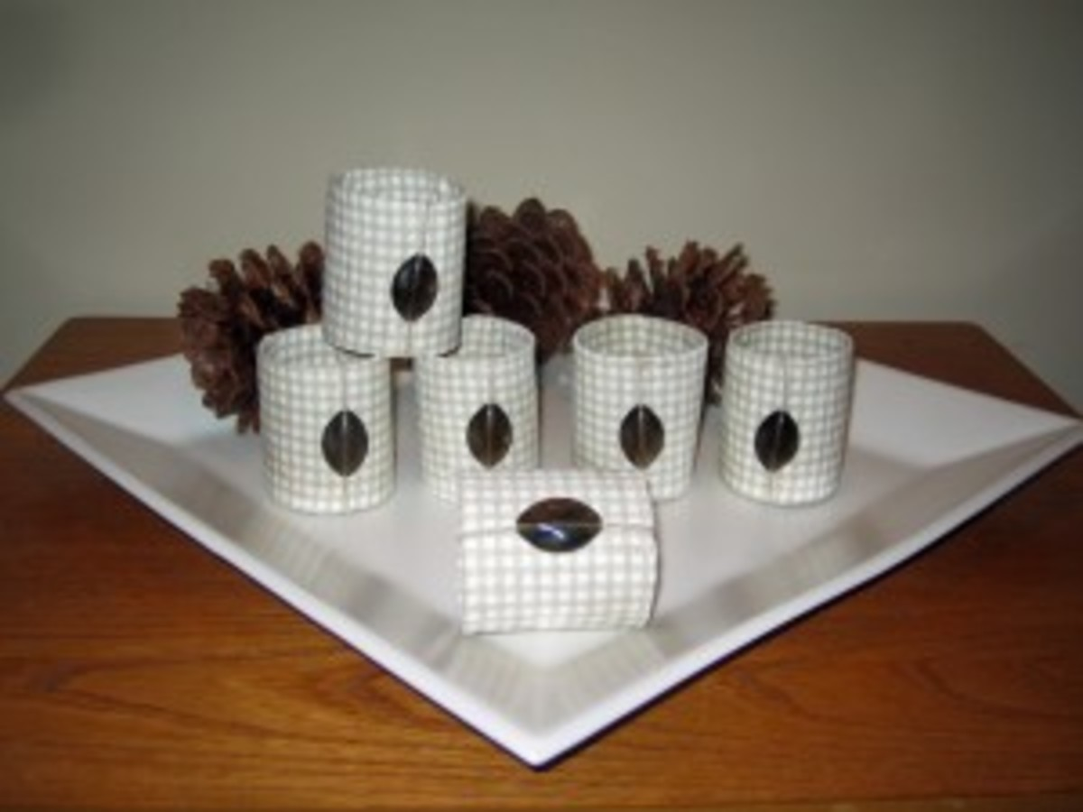 toilet paper roll napkins rings