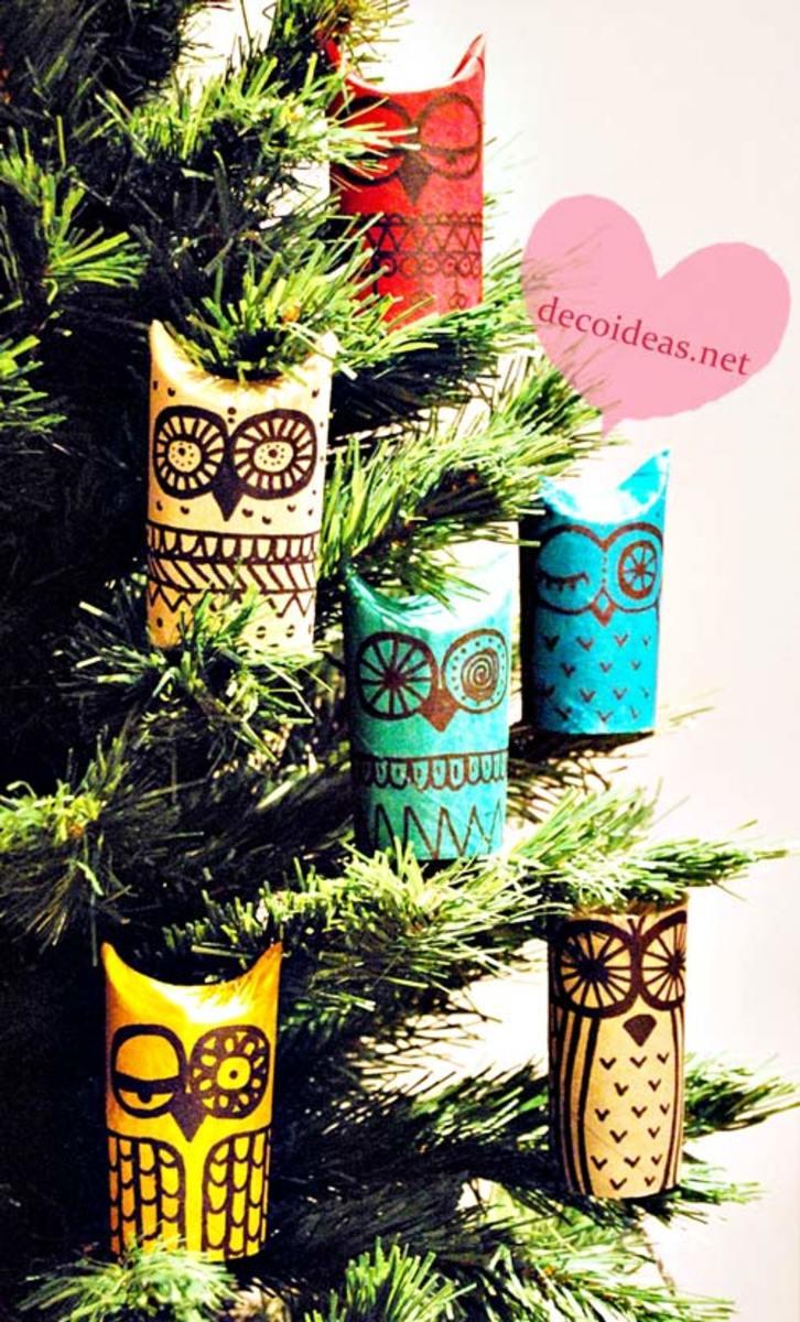 Toilet Paper Owls