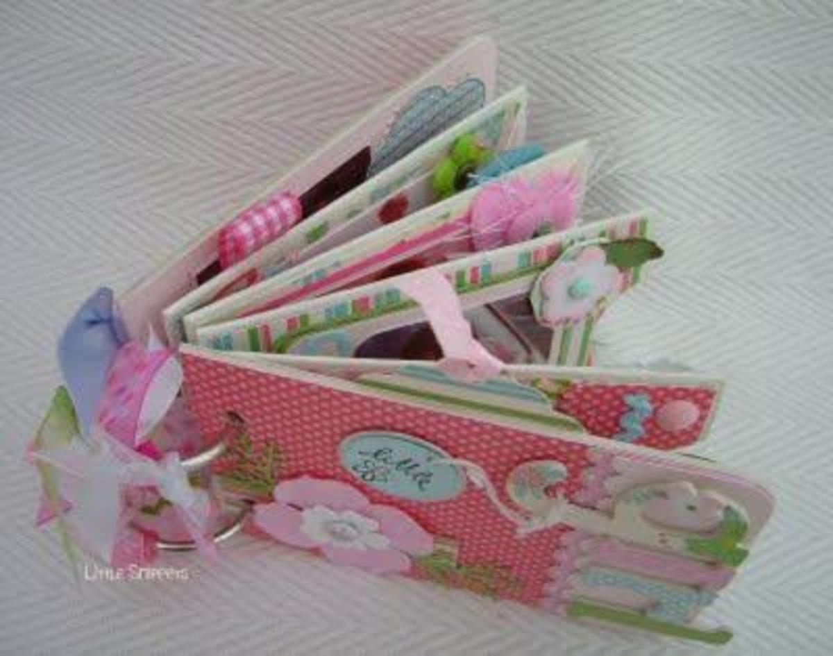 toilet paper roll scrapbook