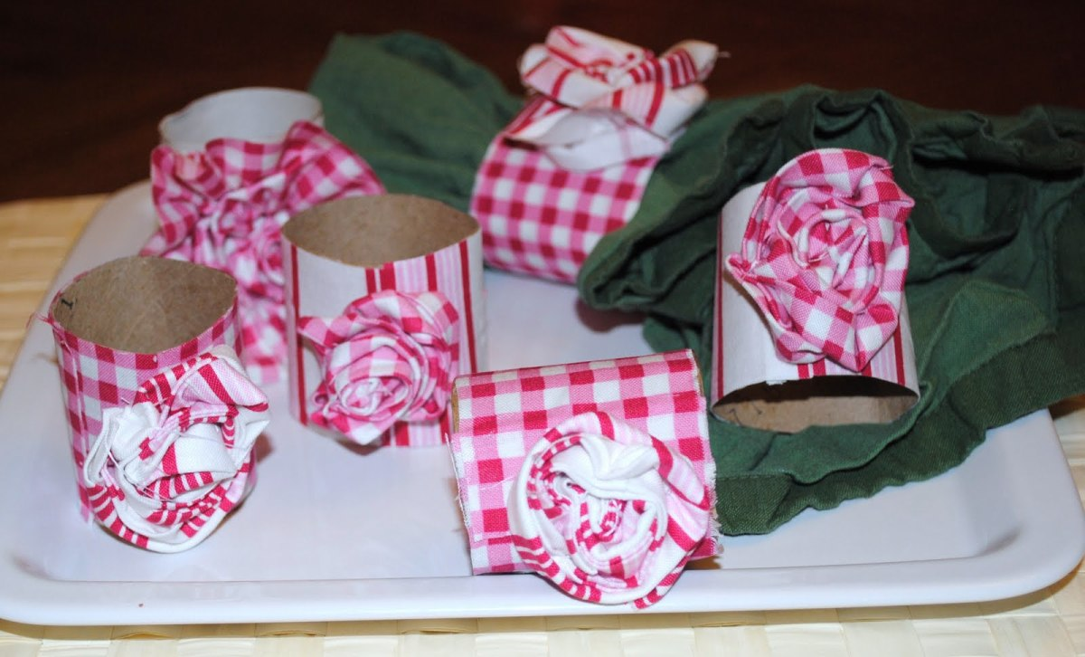 toilet paper roll napkin rings