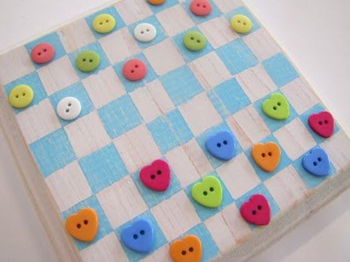 48 Excellent Button Craft Ideas Feltmagnet