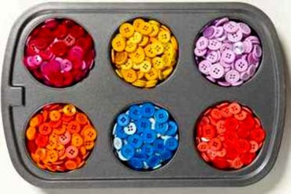 26 Color Your Own Buttons