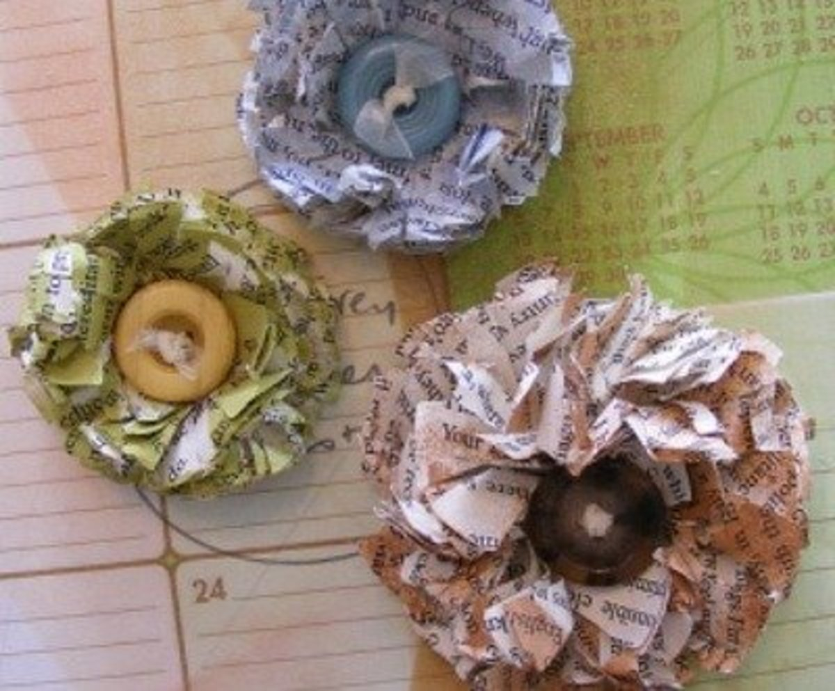 Art Craft Projects With Shredded Paper