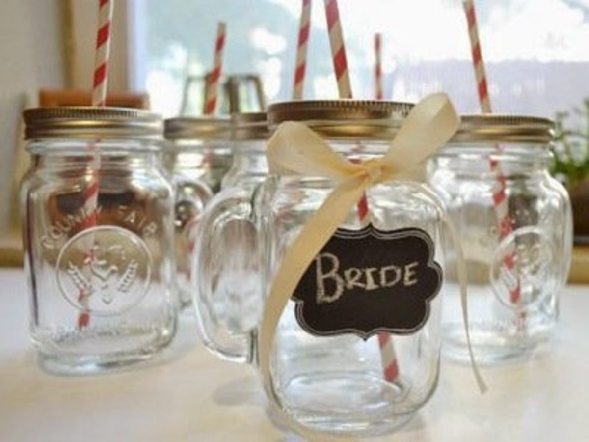 92 Outstanding Craft Projects Using Glass Jars Feltmagnet