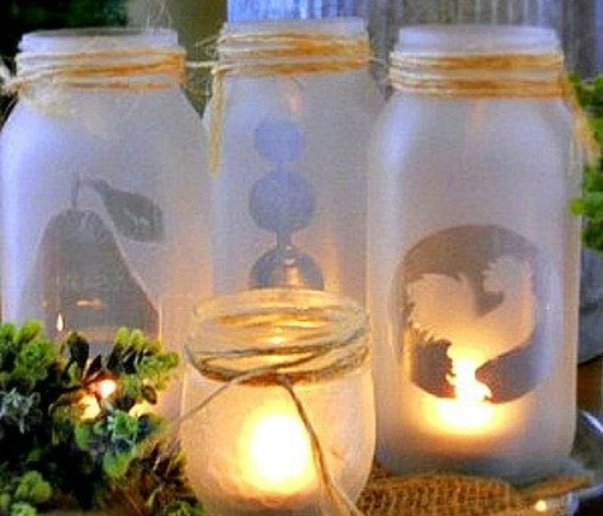 94 Outstanding Craft Projects Using Glass Jars Feltmagnet Crafts