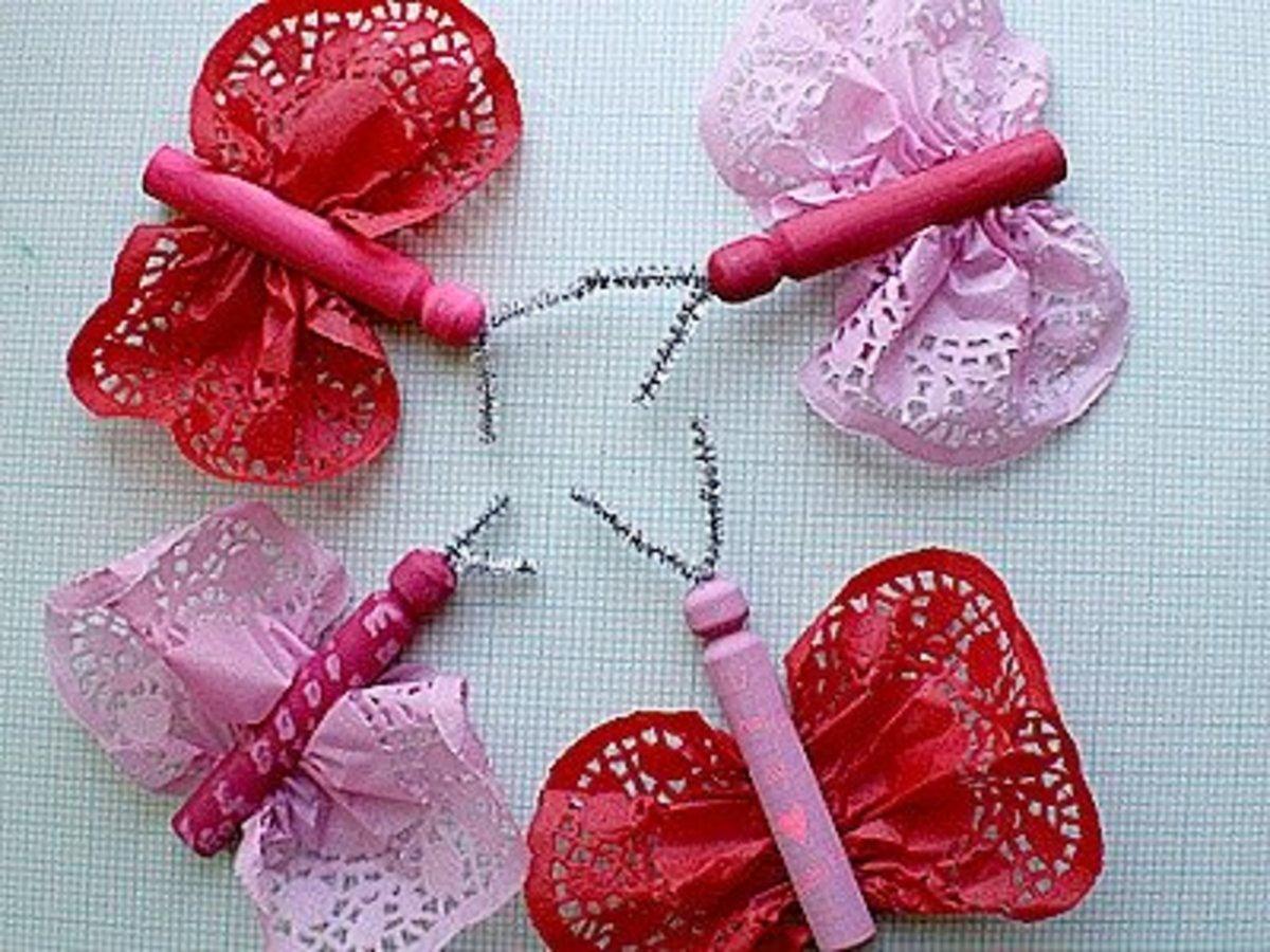 42 Beautiful Doily Craft Ideas Feltmagnet
