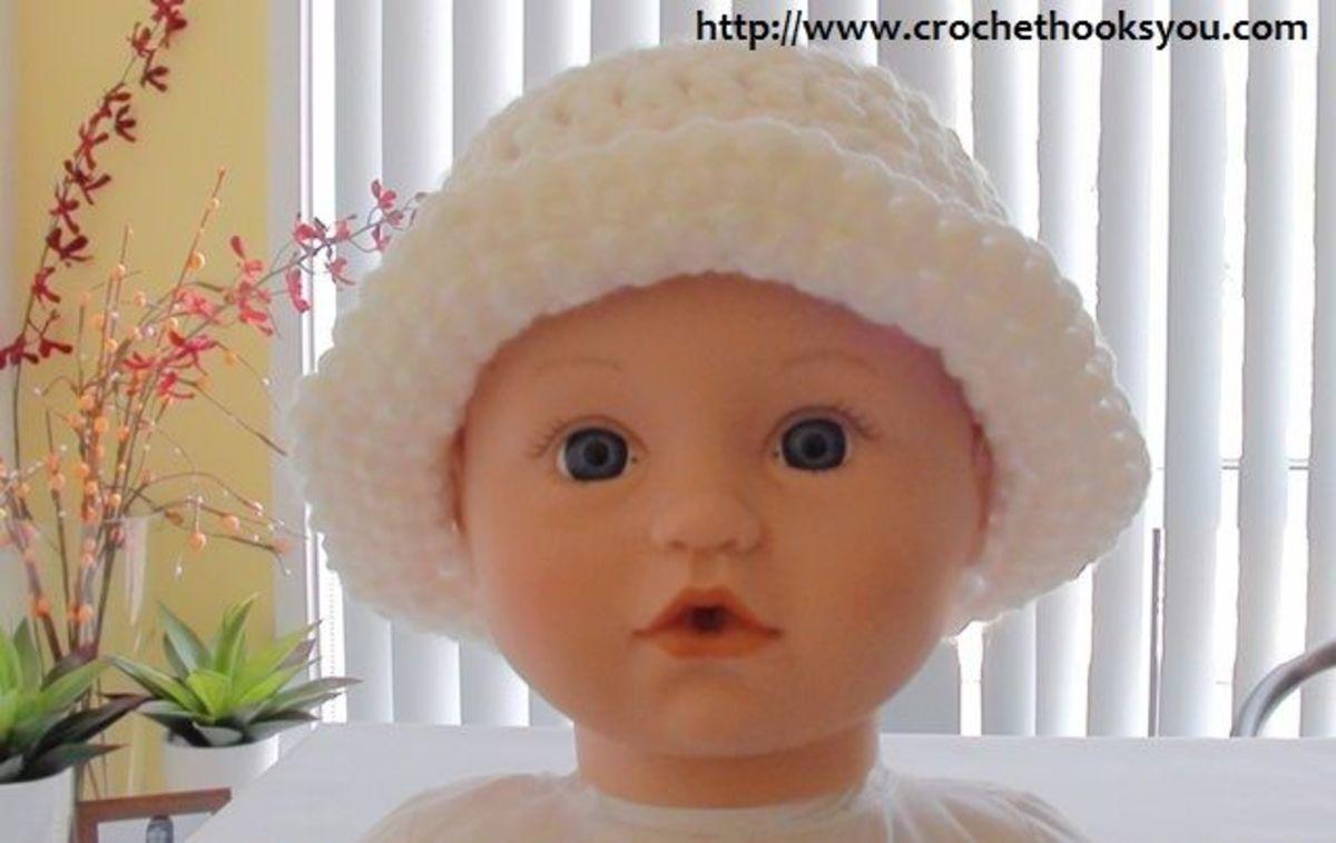 Easy Crochet Baby Hat Patterns