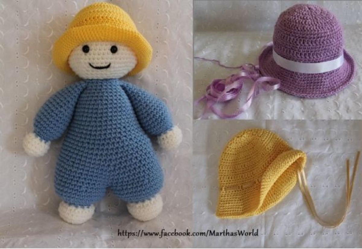 Martha's crochet critters on Facebook. Images used with permission from owner.