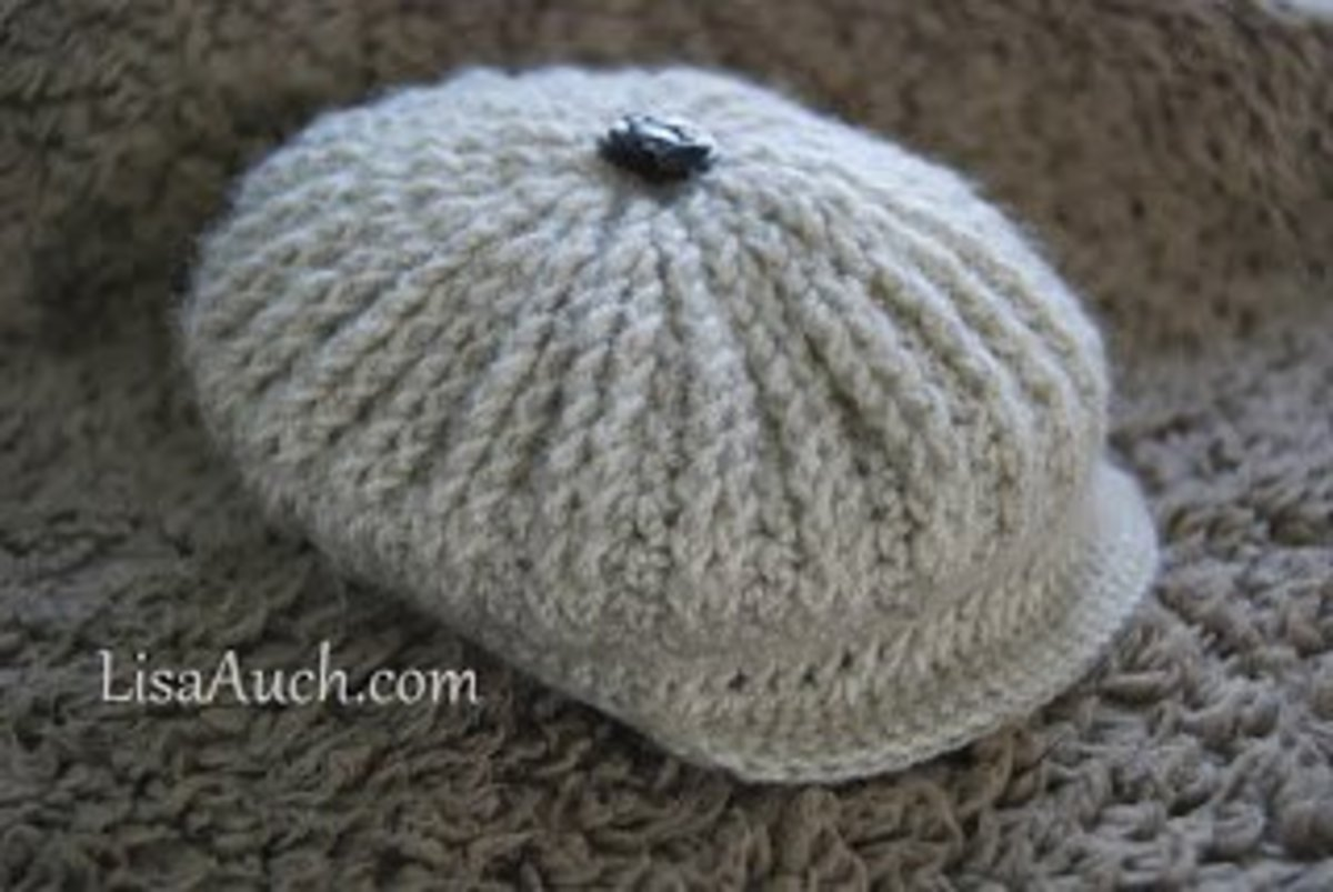 Crochet Newborn Newsboy Hat Pattern Free Dancox For