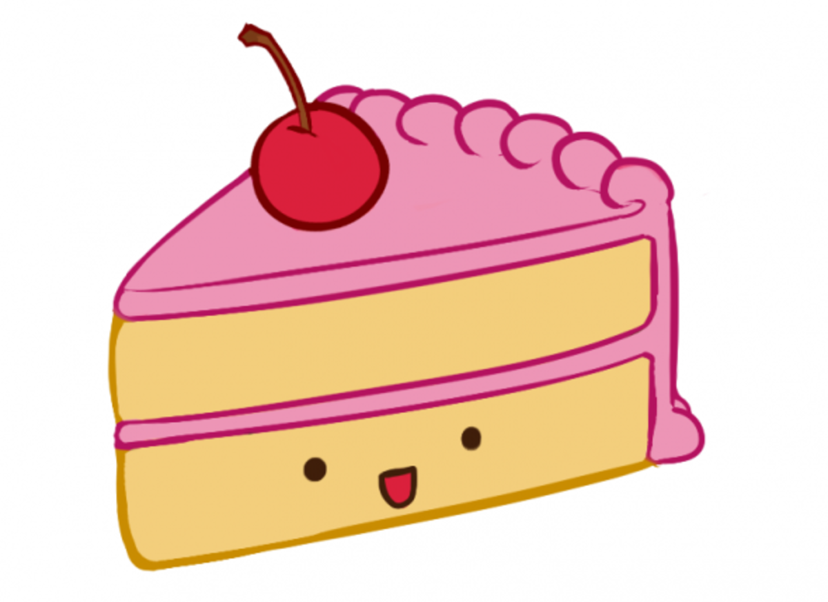 How to Draw Cake Step Eight
