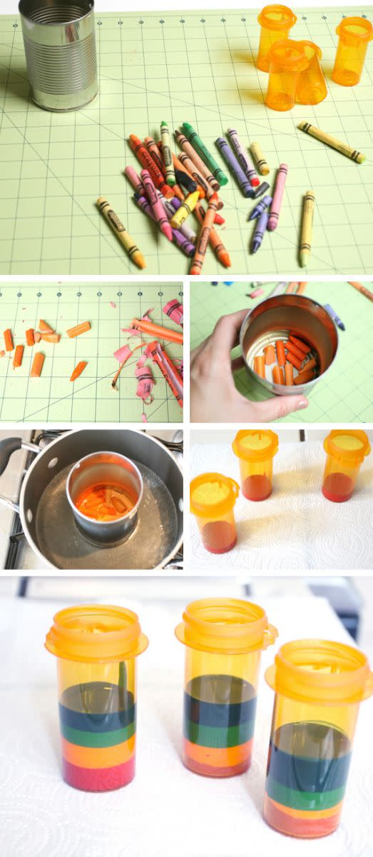 ways to reuse empty pill bottles crafts ideas and more