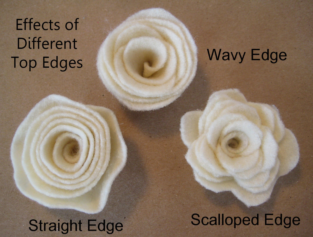 Different Effects of Rolled Rosettes