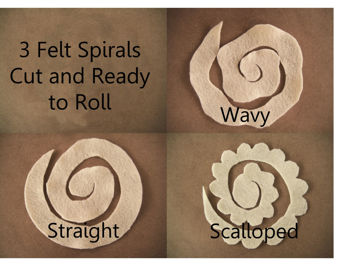 Spirals Cut - 3 Different edges